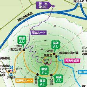 香川県 飯野山(讃岐富士)に登るジョニー山中。