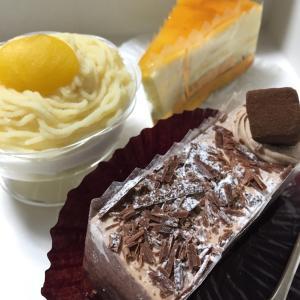 ケーキが美味しい話