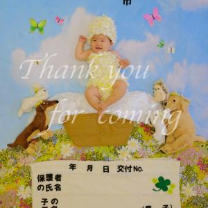 我が子が表紙の母子手帳&おくすり手帳♡♡♡