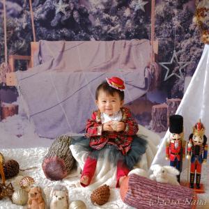 【募集/残席わずか!】クリスマスのおすわりアート@サンタ村のクリスマス☆
