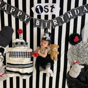 1歳のお誕生日記念♡