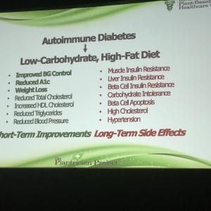 1型糖尿病と低炭水化物食