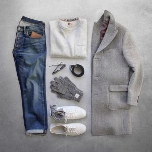 【メンズファッション】チェスターコートの定番色