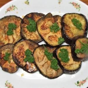 米茄子のステーキ&豆腐のピカタ