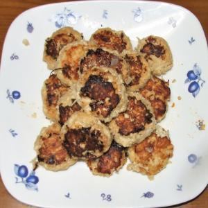 豆腐ミニバーグレタス包み&茄子とピーマンの煮びたし