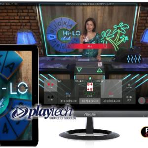 【Hi-LO】2枚のカードで勝負が決まる!ライブカジノ簡単おすすめゲーム