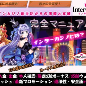 新インターカジノ《完全マニュアル》登録/入金/出金/限定$30/ウェルカムキャッシュetc