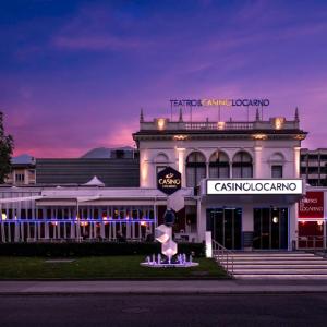 マッジョーレ湖畔にあるカジノ&レストラン【カジノ ロカルノ】スイスおすすめ観光