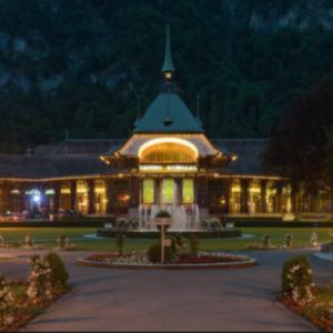 絶景!クルザール公園にある《カジノ インターラーケン》スイス観光おすすめ