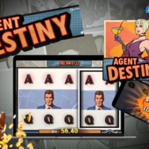 【Agent Destiny】衝撃の5,000倍配当が通常モードでも狙える!画面全体が同一絵柄に💰