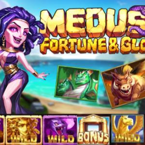 【Medusa Fortune & Glory】ギリシャ神話のワイルド爆発で大勝利!RTP高96.62%!