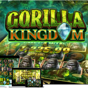 【Gorilla Kingdom】いろんな動物がどんどんゴリラ化!優しい設定&高額配当連発$