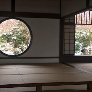 京都の穴場スポット「源光庵」〜雪の金閣も添えて