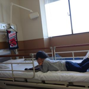 3歳息子の入院中にまさかの〇〇でストレス発散!