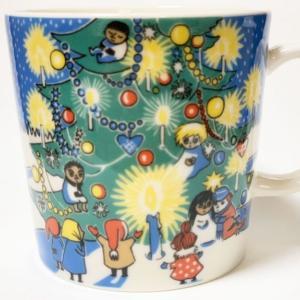 2004, 2005限定 クリスマス (Christmas mug) 【レア度9】 《アラビア&ムーミンマグカップ》
