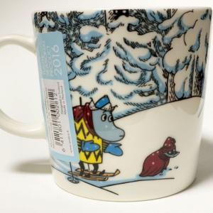 2016 冬限定 スノーホース(Snow horse)【レア度4】 《アラビア&ムーミンマグカップ》