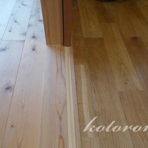 [Web内覧会14][無垢床3]無垢材の酷い汚れを落とす
