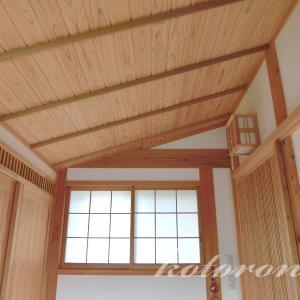 [Web内覧会29][玄関9]勾配天井はかっこいい