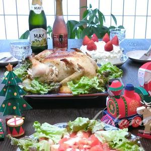 クリスマス料理の作り方☆ローストチキン・ケーキ・サラダ