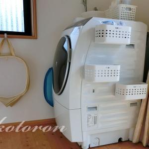 [Web内覧会34][家事室7]洗濯機周りの収納