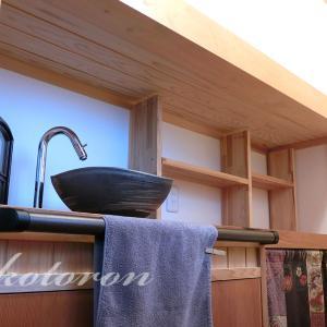 [Web内覧会43][トイレ4]階段下のカウンター&初詣と神棚