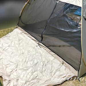 ポップアップテントでお庭キャンプ