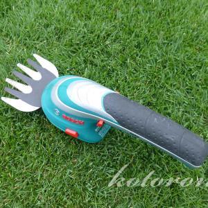 軽くて簡単に芝刈りや刈込ができるコードレスガーデンバリカン