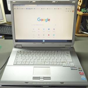 旧型ノートパソコン、パワーアップ計画(その1)