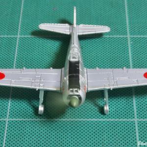 カプセルトイで楽しむ時間 --- タカラトミーアーツ WWⅡ戦闘機コレクション日本機編 四式戦闘機 疾風 ---