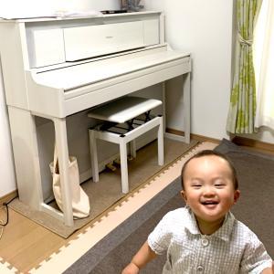 ピアノが届いた!輝く娘の目とやる気