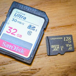 一眼やムービーでおすすめのSDカードはどれ?違いと選び方を解説!
