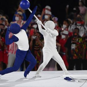 オリンピック開会式のピクトグラム