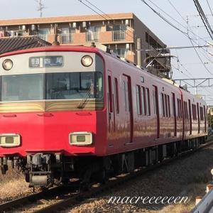名鉄6800系1次車鉄仮面 6804F ロングシート仕様
