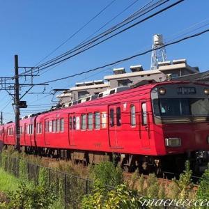 名鉄6800系2次車鉄仮面+6000系3次車  6805F+6009F