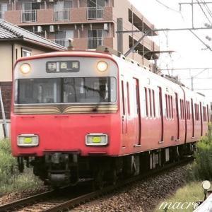 名鉄6800系1次車鉄仮面  6801F