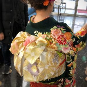 京都の着付けステージ用