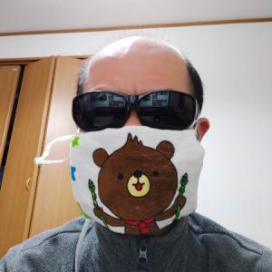 緊急事態宣言を受けてマスクを自作する愉快なおっさん