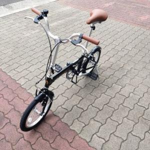 新たな自転車がアマゾンより届き名前をマツと決める愉快なおっさん