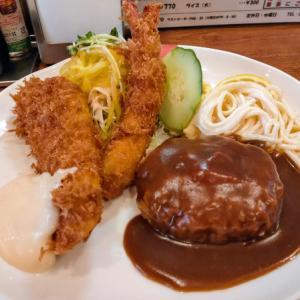 京橋のかめやで洋食をランチで食う愉快なおっさん