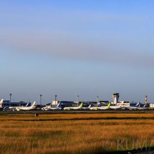 台風19号が関東を直撃!首都圏空港のマヒによって地方空港には大量の航空機の姿