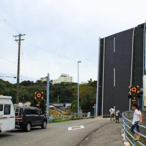 高知にあるまさかの動く橋、手結港可動橋