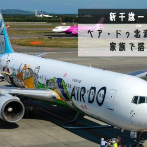 【新千歳→羽田】特別塗装機「ベア・ドゥ北海道JET」に家族で搭乗!AIR DO(ADO)ボーイング767-300ER搭乗記