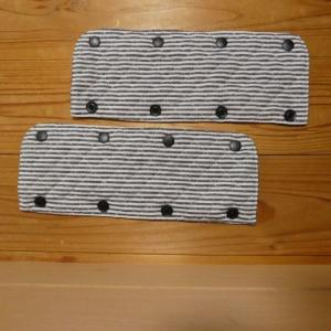 <minne>特別注文:キルティングの肩紐カバー2点製作しました。