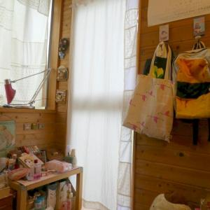 娘の部屋のカーテンを製作