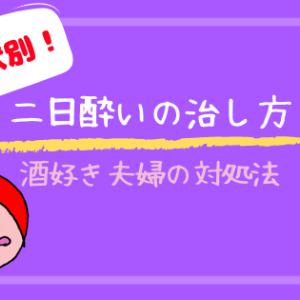 """【症状別】二日酔いの治し方!""""保存版""""酒飲み夫婦が教えます!"""
