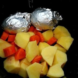 無水調理でポテトサラダ~ホットクック調理