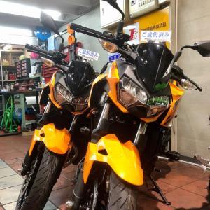 2020/7/31◆「Z400」オレンジあと僅か!&「ZX-25R」ラスト1台!