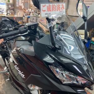 2020/1/18◆ご成約済み車両入荷ですっ!「Ninja400」!(^ω^)