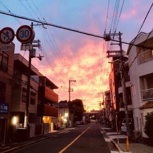2021/6/6◆夕焼け小焼けでまた明日~♪(^ω^)