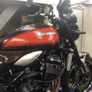 2021/7/20◆Z900RS!初めての車検・・・もう3年かぁ